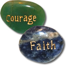 Hospice and Grief Support Pocket Stones image