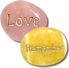 Memorial and Grief Support Pocket Stones image